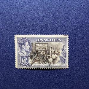 Jamaica 141 F-VF, CV $32.50