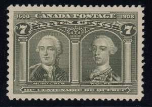 Canada Sc 100, OGh, PSE Graded 95 (SMQ $500.00)
