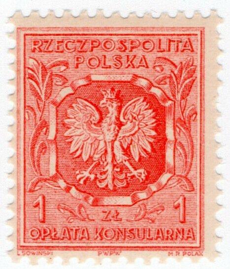 (I.B) Poland Revenue : Consular Service 1zt