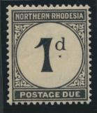 Northern Rhodesia  SG D1 SC# J1 MH Postage Due 1929 - see details