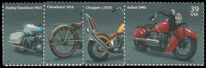 PCBstamps    US #4085/4088 PB $1.56(4x39c)Motorcycle, 2006, MNH, (PB-4)