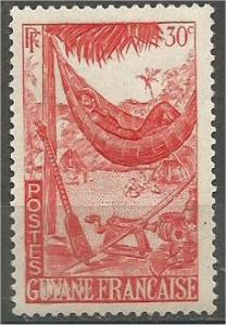 FRENCH GUIANA, 1947, MNH 30c, Hammock Scott 193