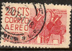 MEXICO C188, 20c 1950 Definitive wmk 279 Used. F-VF. (520)