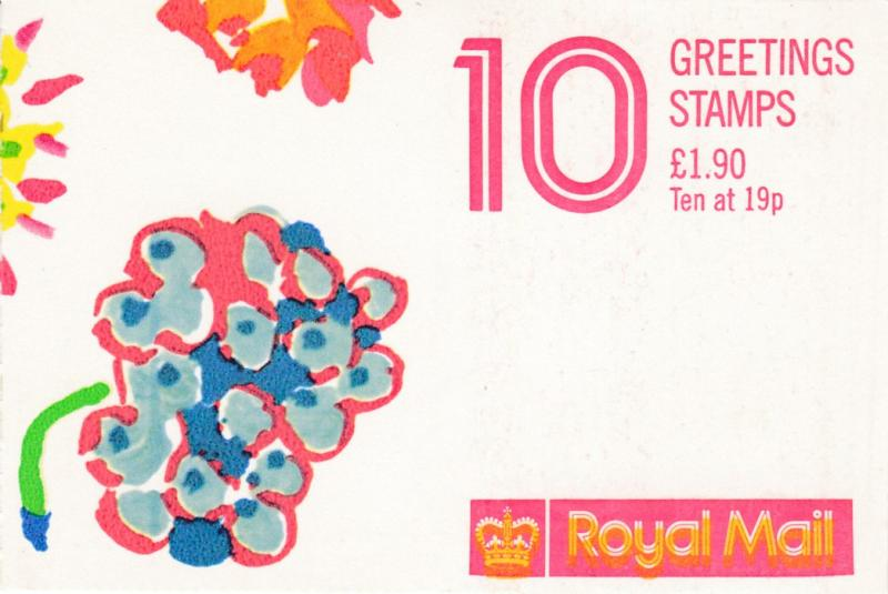 Great Britain 1989 Greetings Booklet Complete in VF condition.