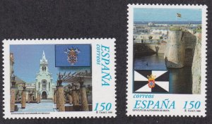 Spain # 2933-1934, Self Government Statues, NH, 1/2 Cat.