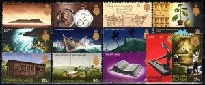 Pitcairn Islands #97-109 MNH CV $14.70 (X833)
