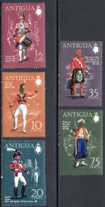 ANTIGUA 262-6 MNH SCV $4.95 BIN $3.00 MILITARY