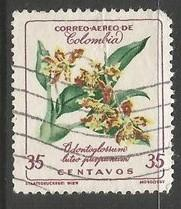 COLOMBIA C361 VFU ORCHIDS X045-1