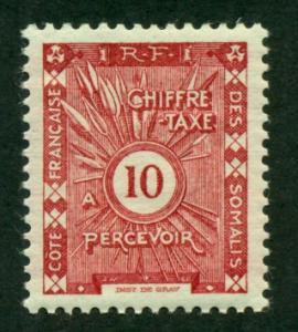 Somali Coast 1915 #J2 MH SCV(2018)=$0.55