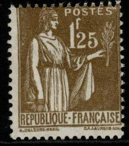FRANCE SG513 1932 1f25 OLIVE MNH