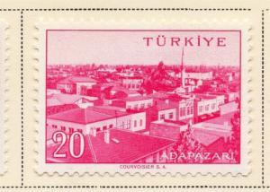 Turkey 1958 Early Issue Fine Mint Hinged 20K. 091538