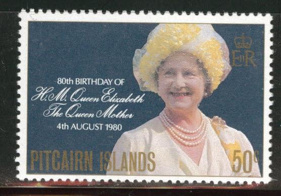 Pitcairn Islands Scott 193 Queen Monher B'day 1980