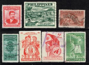 Philippines Stamp USED STAMPS COLLECTION LOT