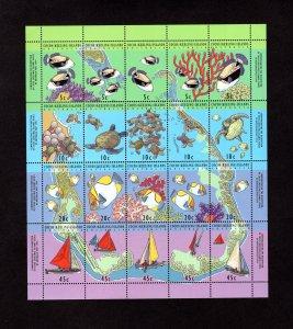 Cocos Islands 292f,  VF, MNH, Post Office Fresh, CV $10.00   ..... 1420020/1/2/3