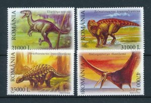 [106163] Romania 2005 Prehistoric animals dinosaurs Elopteryx  MNH