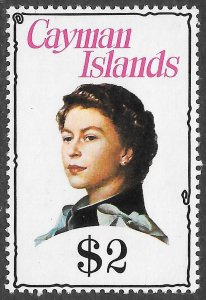 Cayman Islands # 345 Mint Never Hinged