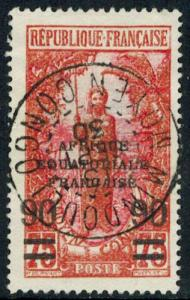 French Equatorial Africa Scott 55 Used.
