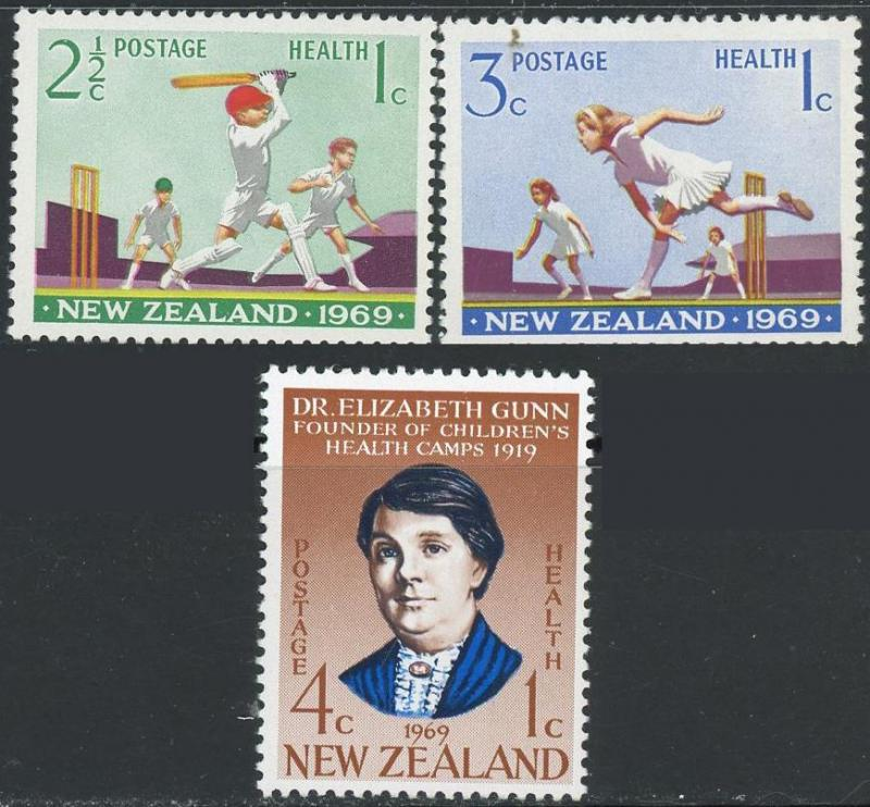 New Zealand #B77-B79 Children's Health Camps ~ (7784)