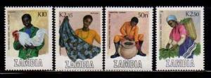 Zambia MNH 444-7 Trade Area Fair  SCV 4.05