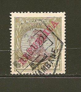Mozambique 117 King Manoel Overprint Used