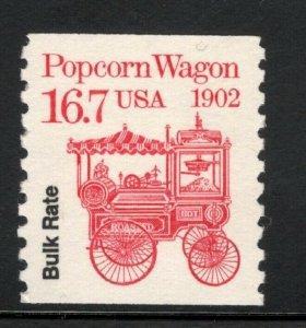 2261 Popcorn Wagon Precancel Bulk Rate US Single Mint/nh FREE SHIPPING