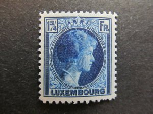 A4P27F75 Letzebuerg Luxembourg 1926-35 1 1/4fr mh*