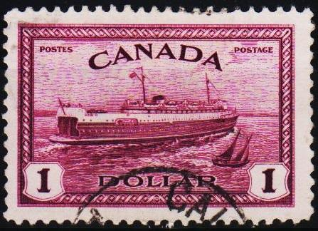 Canada. 1946 $1 S.G.406 Fine Used