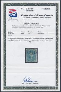 #70b (STEEL BLUE) VF+ WITH PAID CANCEL; PSE CERT CV $850 BT1762