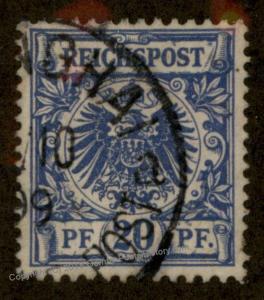 Germany China 1899 Vorlaufer Forerunner MiV48 SHANGHAI 88605
