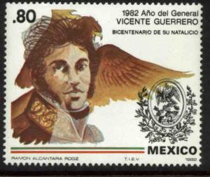 MEXICO 1283, Bicentennial Birth of Gen Vicente Guerrero MINT, NH. VF.