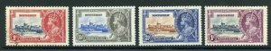 Montserrat SG94/7 1935 Silver Jubilee 1d used other m/m