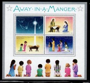 Christmas Island Sc 116 1981 Christmas stamp sheet mint NH