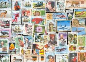 200 ALL DIFFERENT KAMPUCHEA (CAMBODIA) STAMPS