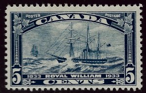 Canada #204 Mint F-VF SC$10.00...Very Popular Country!
