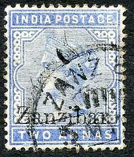 Zanzibar SG7 2a Blue Small second Z used