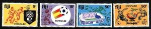 Fiji-Sc#466-9-Unused NH set-Sports-World Cup Soccer-1982-
