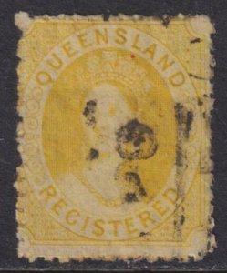 Australia - Queensland 1861 SC F2 Used