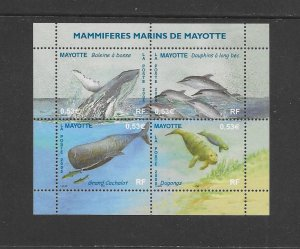 WHALES - MAYOTTE #215  MNH
