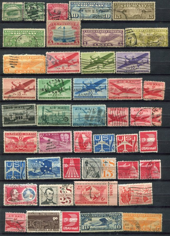 Old Airmail Collection -- Price Reduction