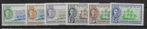 BRITISH HONDURAS SG166/71 1949 ST.GEORGE'S CAY SET MTD MINT
