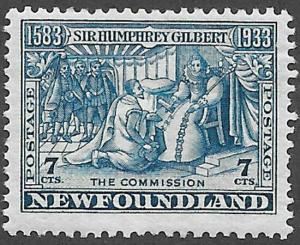 Newfoundland Scott Number 217 FVF H