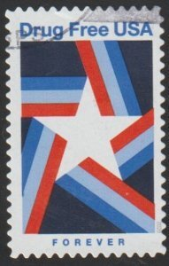 SCOTT 5542-DRUG FREE AMERICA SINGLE STAMP MNH