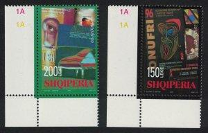 Albania Poster Act Europa CEPT 2v Corners 2003 MNH SG#2960-2961 MI#2928-2929