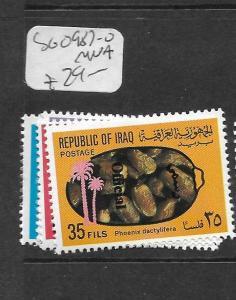 IRAQ (P1902BB) OFFICIAL  SG O987-90      MNH