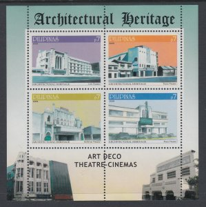 Philippines 3219 Architecture Souvenir Sheet MNH VF