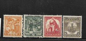 MEXICO, 729-732, MNH, INC. SET , TYPES OF '34