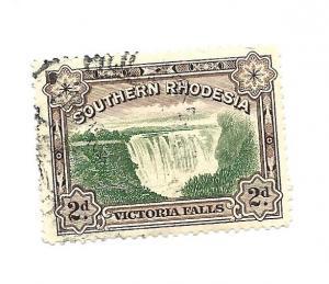 Southern Rhodesia 1935 - Perf 12.5 - Scott #37A