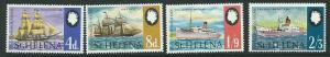 ST.HELENA SG241/4 1969 MAIL COMMUNICATIONS  MNH