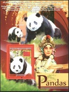 Guinea MNH S/S 5587 Pandas Wildlife 2008