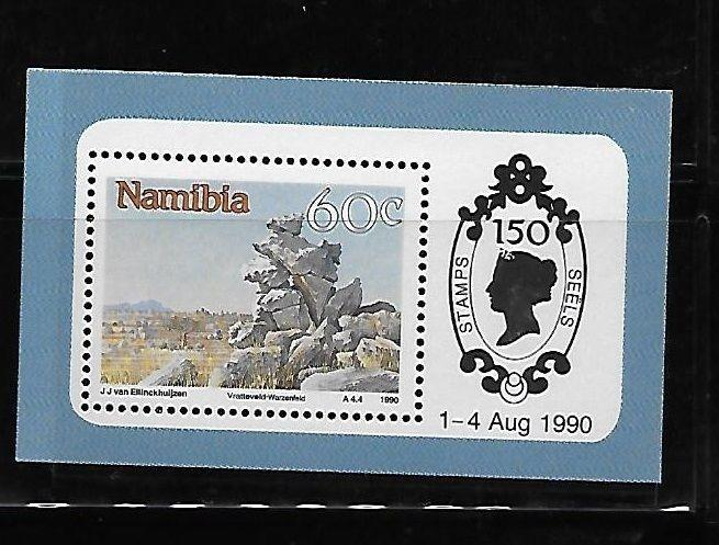 Namibia 1990 150th Anniversary of Penny Black S/S MNH A653